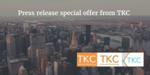 Press releases for small business SEO benefit by TKC